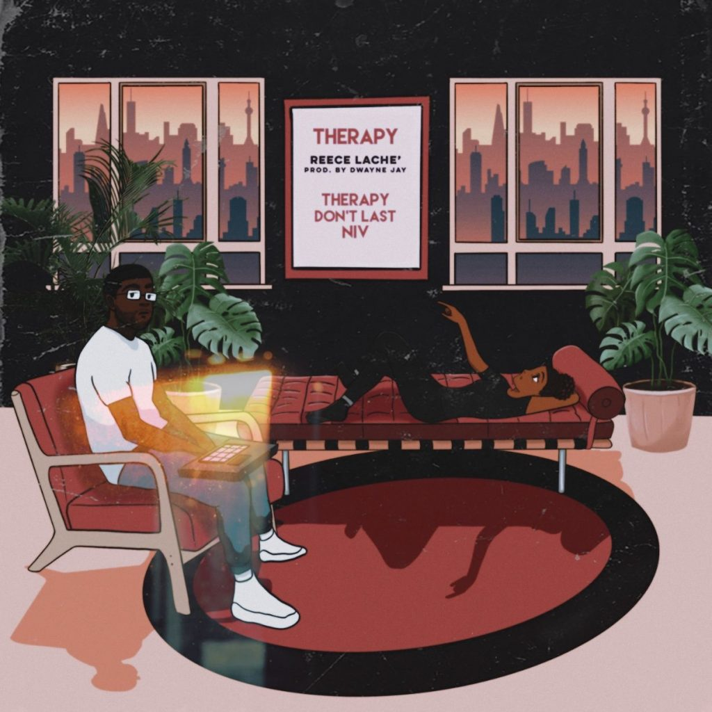 REECE LACHÉ drops NEW PROJECT 'THERAPY'