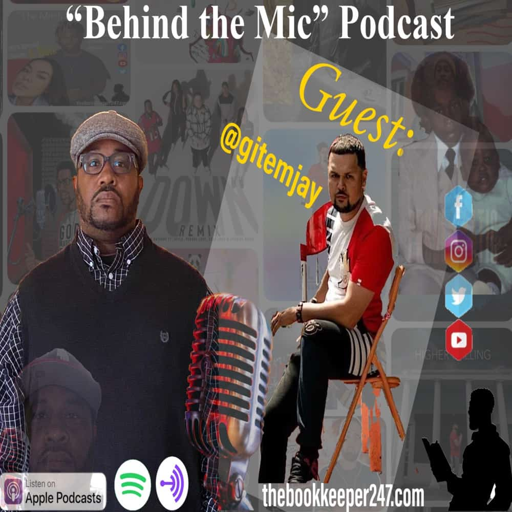 theBookkeeper247 Podcast ep. 3 with special guest Gitemjay (Part 1)